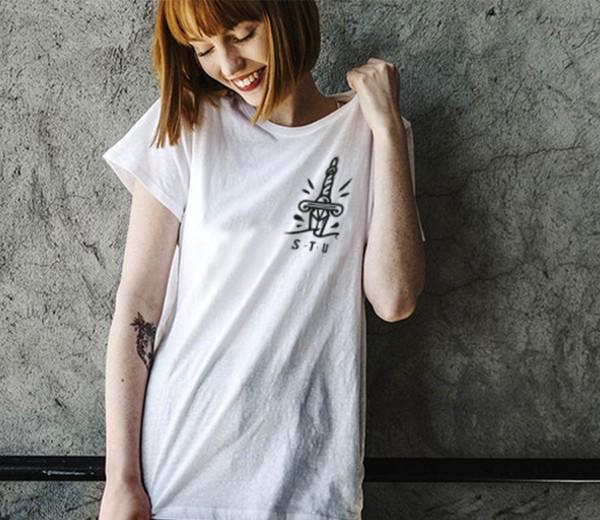 Illustration tee-shirt Thorn In Flesh