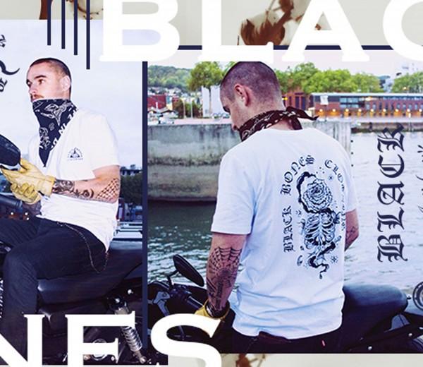 campagne de communication Black bones – Lookbook