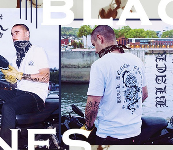 campagne de communication Black bones – Lookbook