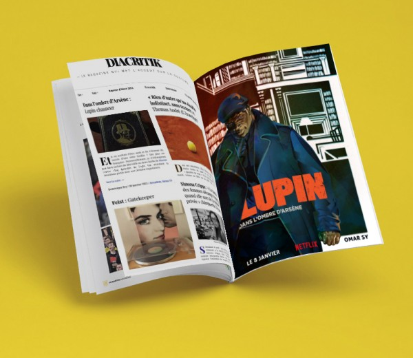 Illustration hommage Lupin Netflix